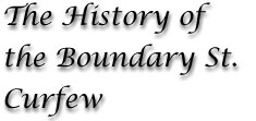 The History of the Brisbane Town Boundary as the border for the 19th century colonial curfew of Aboriginal people